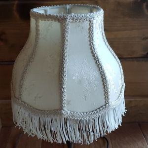 Fringed Lampshade